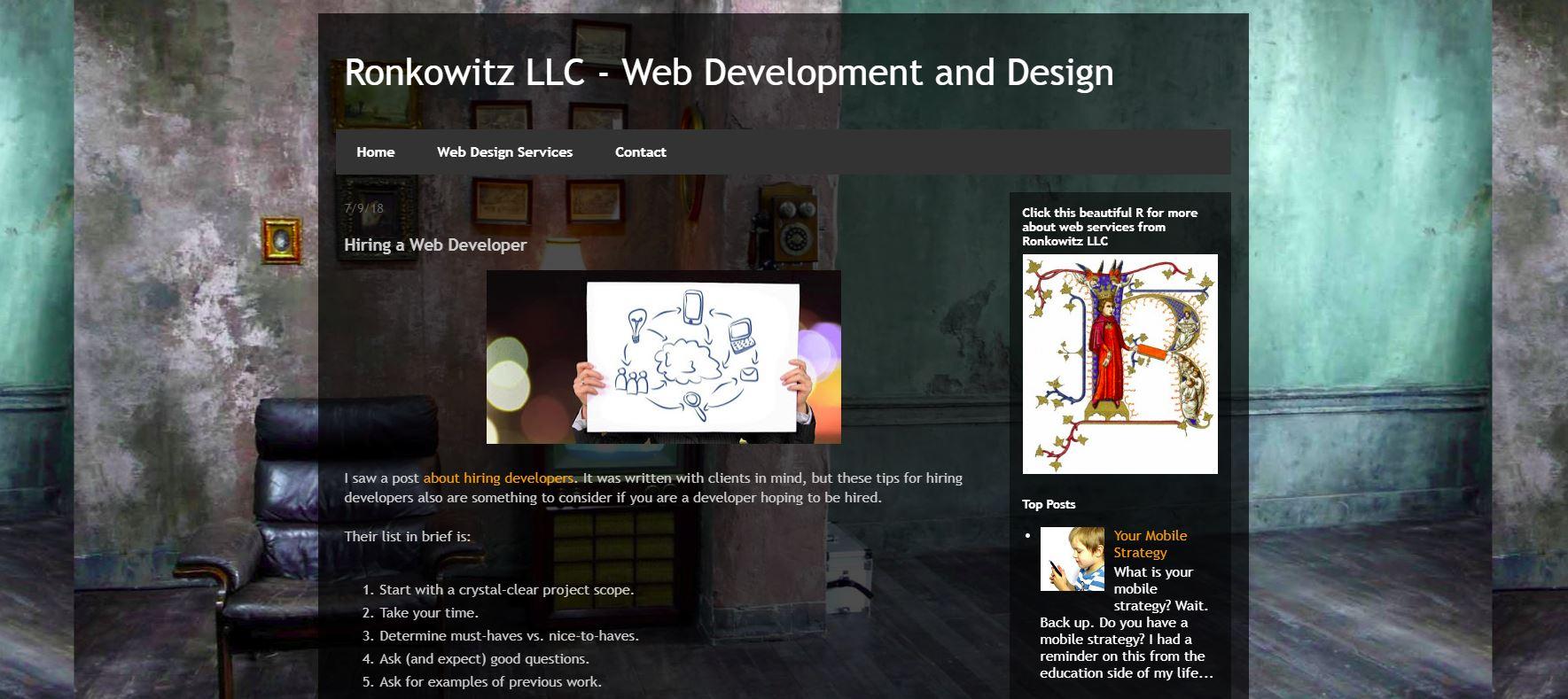 web demo site